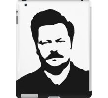 Ron Swanson - Parks and Recreation iPad Case/Skin