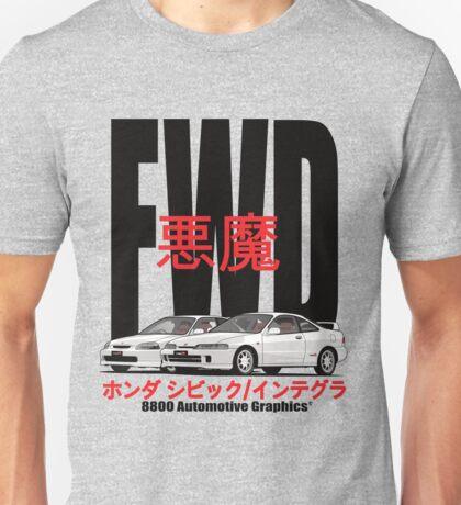 FWD Honda Demons Unisex T-Shirt