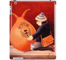 I have to go now. iPad Case/Skin