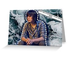 Chandler Riggs Greeting Card
