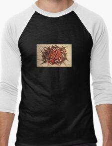 RAW 2 : red Men's Baseball ¾ T-Shirt