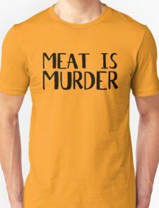 Vegetarian Meat Is Murder Vege Green  Unisex T-Shirt
