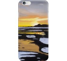 Winter Sunset In The Moors iPhone Case/Skin