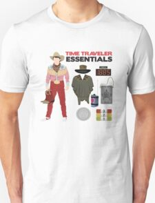 Back to the Future : Time Traveler Essentials 1885 Unisex T-Shirt