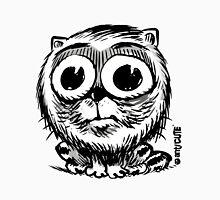 big eyes small black and white cat Unisex T-Shirt