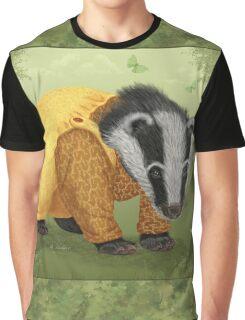Mr Badger Graphic T-Shirt