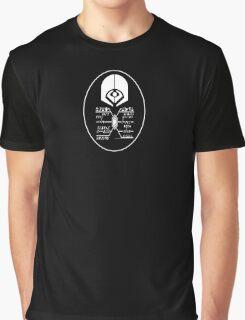 Star Trek - Ferengi Oval Badge - White Clean Graphic T-Shirt
