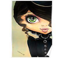 Victorian Gothic - Vampire Girl Poster