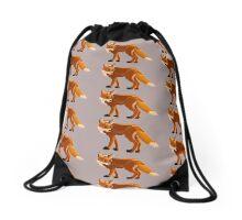 Pixel Fox (large) Drawstring Bag