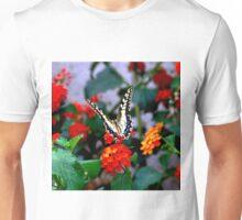 BUTTERFLY FLOWERS 1 Unisex T-Shirt