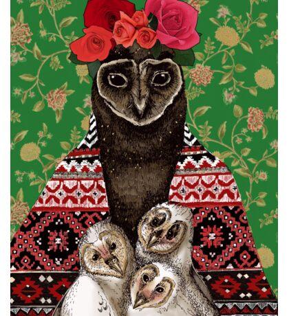 Mother Owl Sticker