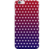 Red, White and Blue Star Pattern iPhone Case/Skin