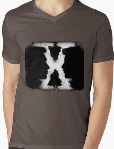 X FILES Mens V-Neck T-Shirt