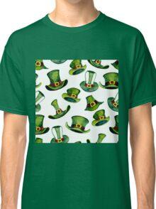 Leprechaun hats pattern  Classic T-Shirt