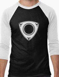 Rotary engine design Men's Baseball ¾ T-Shirt