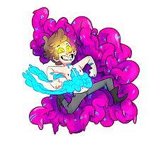 BIPPER YOU ARE MAKING AN AWFUL MESS Photographic Print