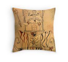 The Chariot - Major Arcana Throw Pillow
