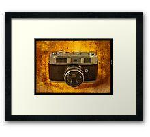 Rank Mamiya Rangefinder Framed Print