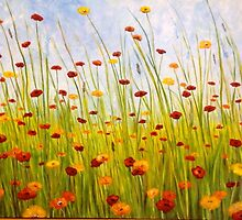 Field of Flowers by Luci Feldman