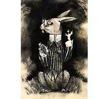 The White Rabbit Photographic Print
