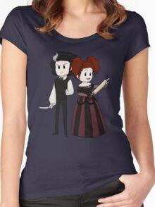 Sweeney Todd & Mrs. Lovett Women's Fitted Scoop T-Shirt