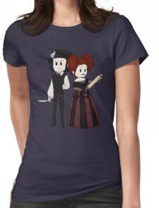 Sweeney Todd & Mrs. Lovett Womens Fitted T-Shirt