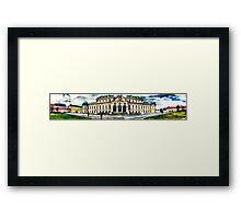 Vienna Belvedere Framed Print