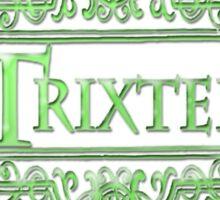 Trixter (Green) Sticker