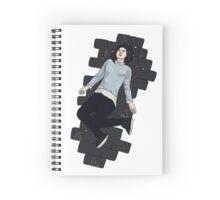 Clara Oswald Spiral Notebook