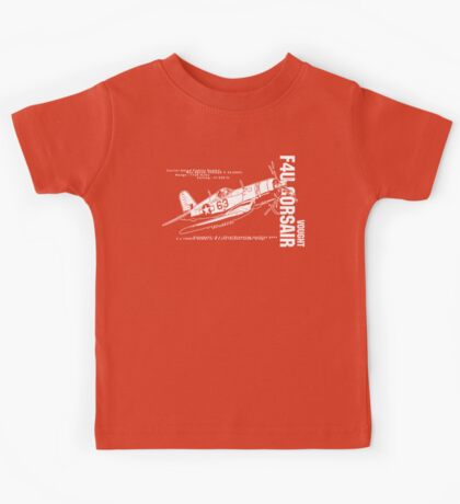 F4U Corsair Fighter Bomber Kids Tee