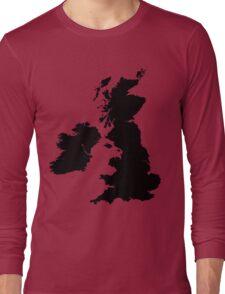 Werewolf map Long Sleeve T-Shirt