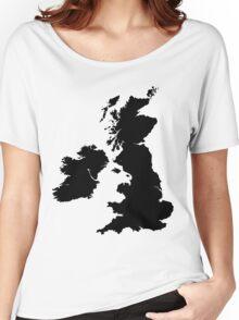 Werewolf map Women's Relaxed Fit T-Shirt