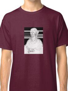 Mona Lisa Robot Classic T-Shirt