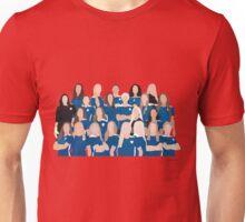 SQUAD OUTLINE Unisex T-Shirt
