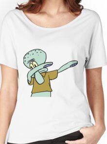 Squidward Dab  Women's Relaxed Fit T-Shirt