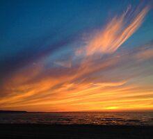 Angel at Sunset - Photo by Luci Feldman