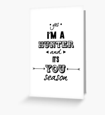 Parks and Recreation - It's You Season! Greeting Card