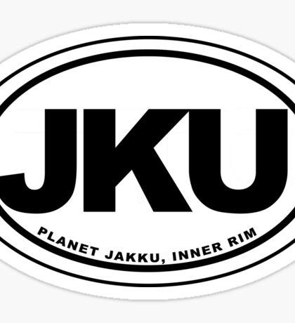 Jakku Destination Sticker