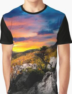 Sunset on Rough Ridge Graphic T-Shirt