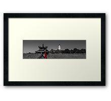 China Framed Print