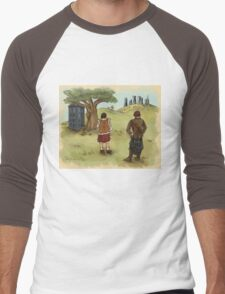 The 2 Jamies- Outlander/DrWho Men's Baseball ¾ T-Shirt