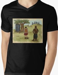 The 2 Jamies- Outlander/DrWho Mens V-Neck T-Shirt