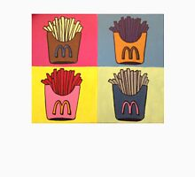 Andy Warhol Style French Fries Unisex T-Shirt