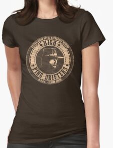 High Ping Drifters Brown Womens Fitted T-Shirt
