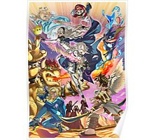 Smash 4 Corrin Reveal Illustration From Fire Emblem Fates Poster
