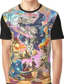 Smash 4 Corrin Reveal Illustration From Fire Emblem Fates Graphic T-Shirt