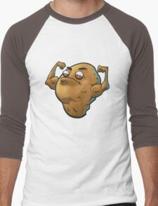 Buff Potato Men's Baseball ¾ T-Shirt