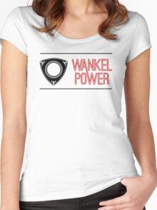 Wankel Power Women's Fitted Scoop T-Shirt