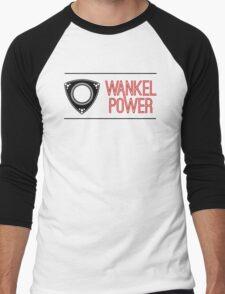 Wankel Power Men's Baseball ¾ T-Shirt