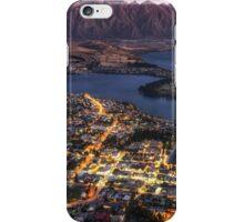 queenstown sunset iPhone Case/Skin
